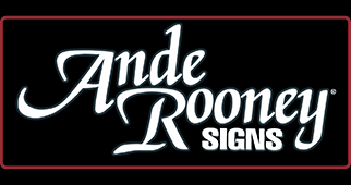 Ande Rooney Sign Collection