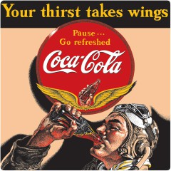 Coca-Cola Tin Signs