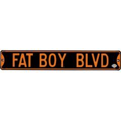 Harley Davidson Steel Street Signs