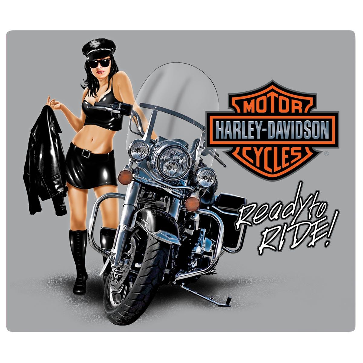 Harley Davidson Pin Up Girl Shirts