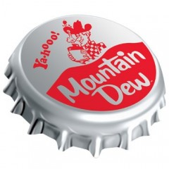 Mountain Dew® Bottle Cap Sign