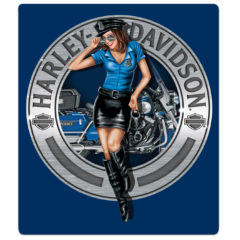 H-D® Police Babe Sign