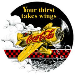 Coke ® Gee Bee Racer ( NEW )