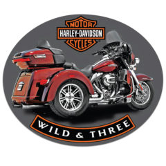 H-D ® WILD & THREE SIGN