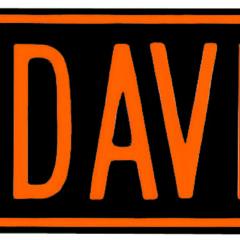 H-D ® Drive Street Sign