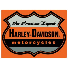 Harley Davidson Metal Signs