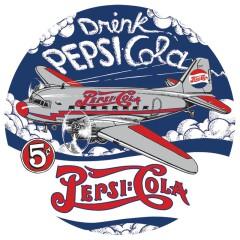 Pepsi Metal Signs