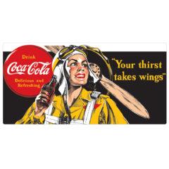Coca-Cola® Aviator Woman NEW!